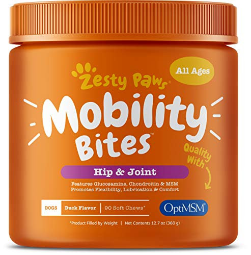 Top 10 Zesty Paws Mobility Bites of 2021